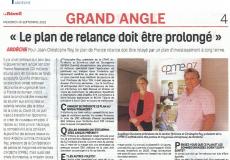 Article Réveil du Vivarais