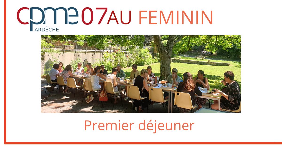 Déjeuner de lancement CPME 07 au féminin